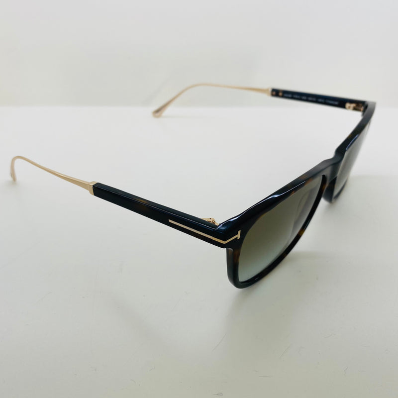 TOM FORD | TF813 CALEB 52G | TINTANIUM DARK HAVANA