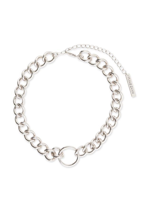 FRAME CHAIN | HOOKER | WHITE GOLD