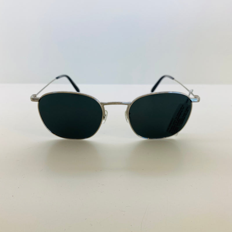 OLIVER PEOPLES | OV1285ST 5036P252 | GOLDSEN SUN | SILVER W/ MIDNIGHT EXPRESS POLAR