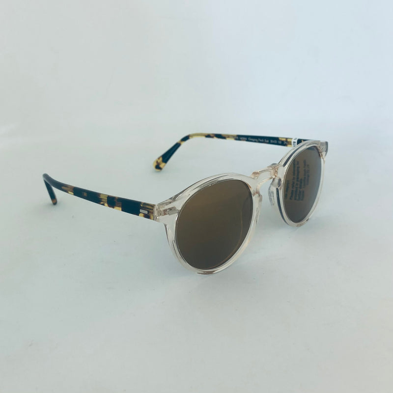 OLIVER PEOPLS | OV5217S 1485W4 | GREGORY PECK SUN DARK TORTOISE BROWN WITH GOLD