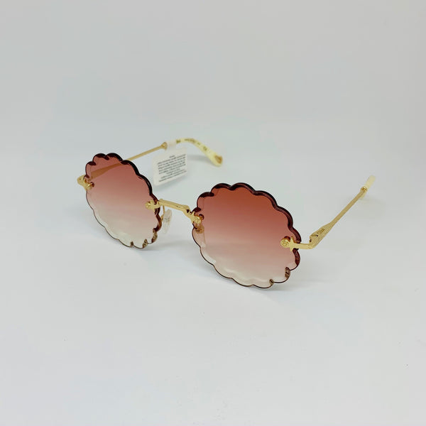 CHLOE | CE142S 823 GOLD/PINK GRADIENT