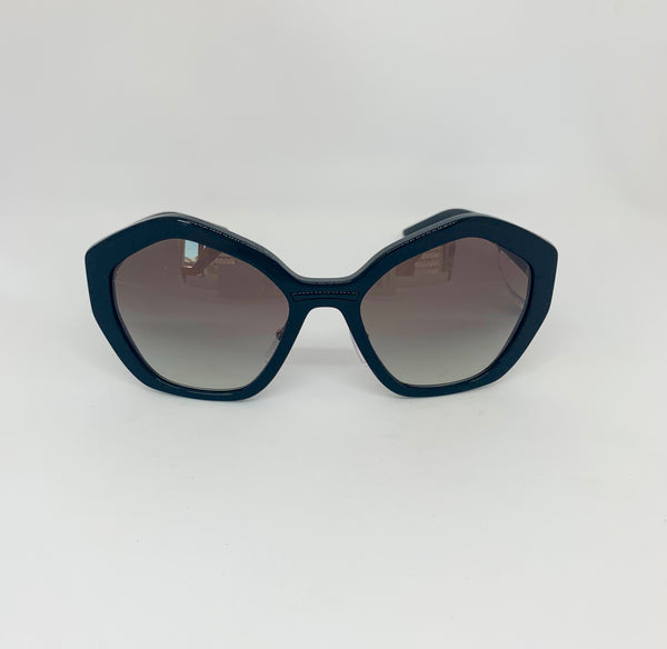 PRADA 0PR 08XS 1AB0A7  BLACK/GREY GRADIENT