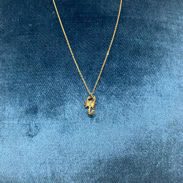 FEIDT | Collier Scorpio | Necklace | 9K Yellow Gold | 42 CM | OR09J