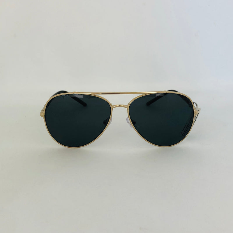 PRADA 66XS ZVN5Z1 57 PALE GOLD WITH GRET POLARIZED