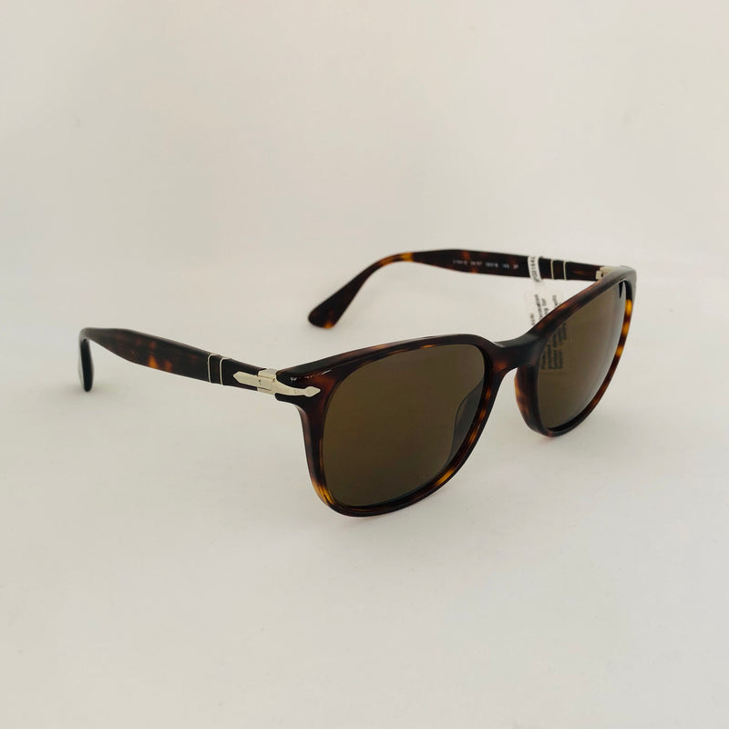 PERSOL PO3164S 24/57 HAVANA WITH BROWN POLARIZED