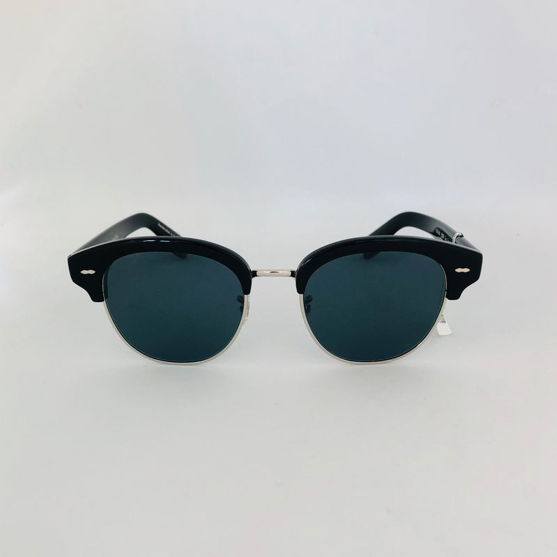 OLIVER PEOPLES OV5436S 10053R 52 CARY GRANT 2 SUN BLACK WITH BLUE POLARIZED