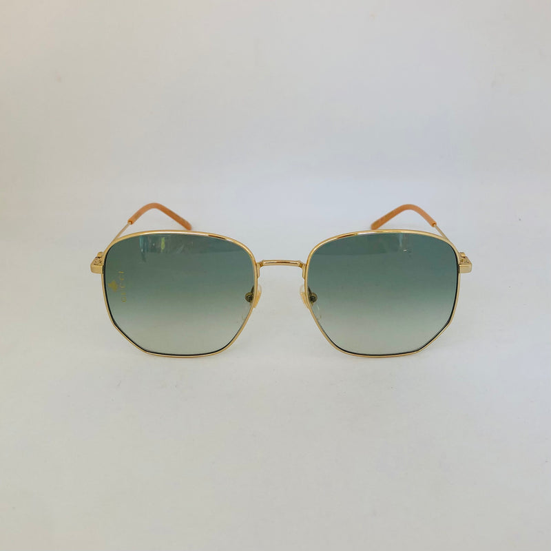 GUCCI GG0396S 002 GOLD