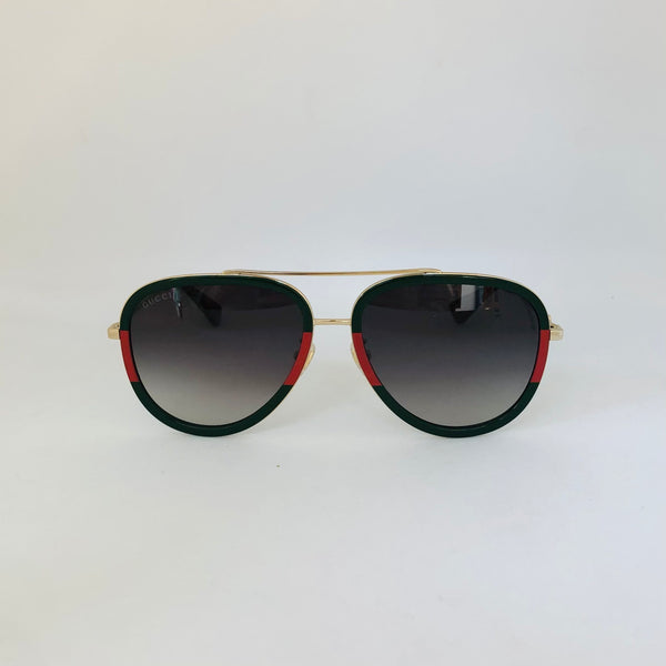 GUCCI | GG0062S 003 | AVIATOR | GREEN RED