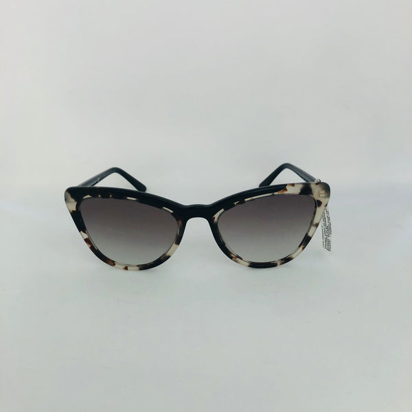 PRADA 0PR 01VS 3980A756 CATWALK OPAL SPOTTED BROWN/BLACK