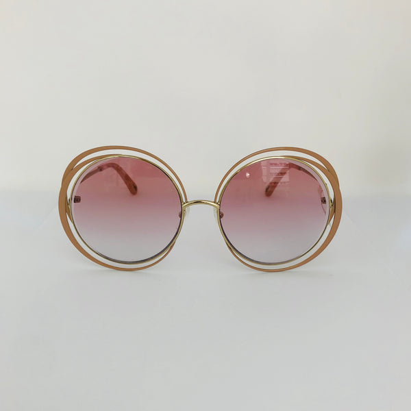 CHLOE | CE155S 798 GOLD/NUDE