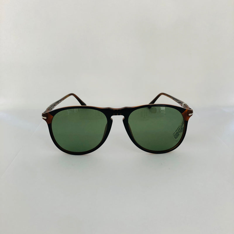 PERSOL PO6649SM BLACK W/POLAR GREEN