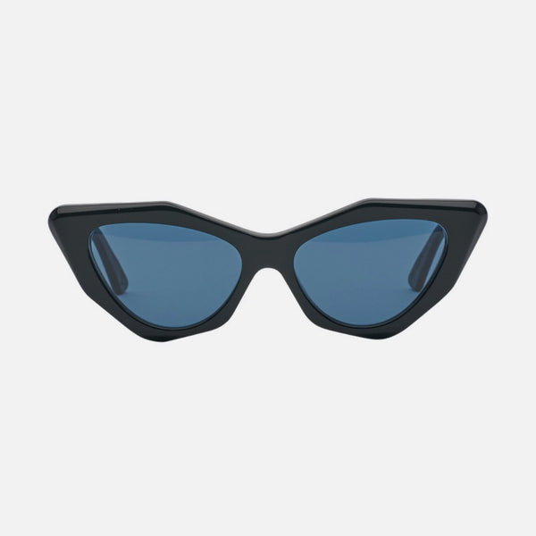 CHILDE | MOOKHI | BIO-ACETATE GLOSS BLACK | BLUE TELLURIC LENS