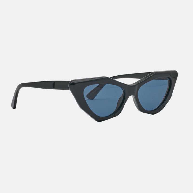 Childe | MOOKHI Bio-Acetate Gloss Black | Blue Telluric Lens