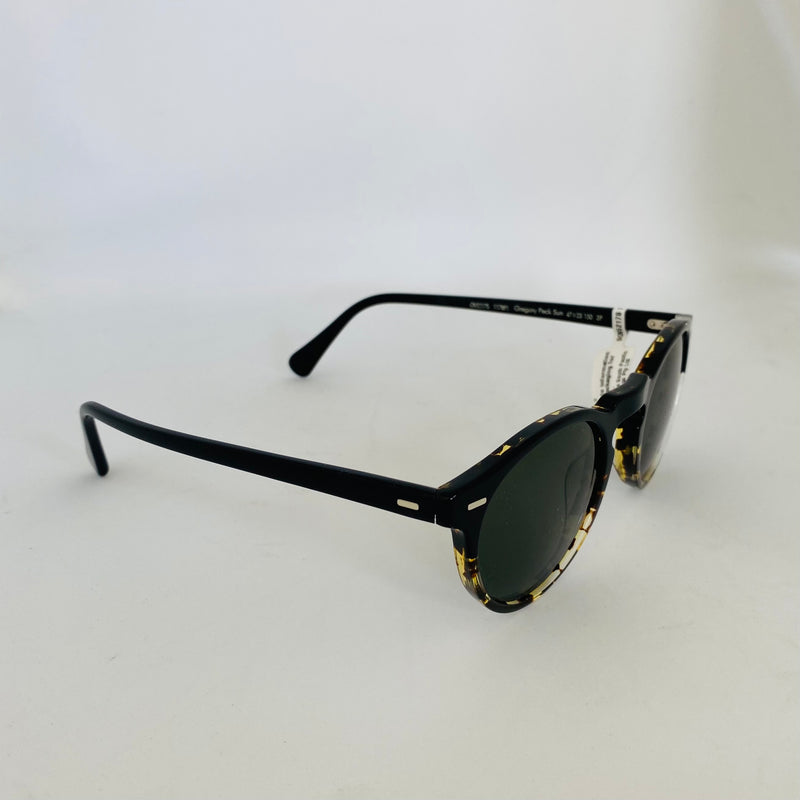 OLIVER PEOPLES | OV5217S 1178P1 | GREGORY PECK SUN | BLACK / TORTE GRADIENT W/CRYSTAL POLAR