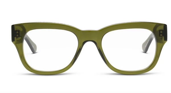 CADDIS - MIKLOS-POLISHED HERITAGE GREEN-1.5 LENS