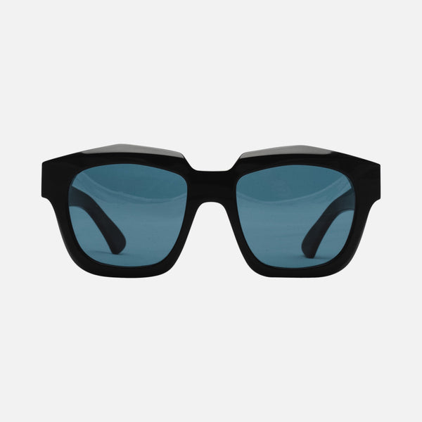 CHILDE | VIVID Bio-Acetate Gloss Black | Blue Telluric Lens