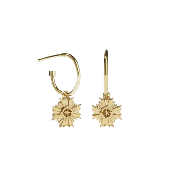 MEADOWLARK August Signature Hoop Earring - Gold Plated