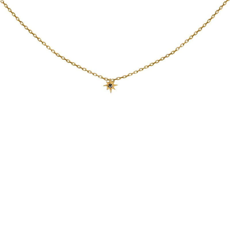 FEIDT Necklace Soleil Sun 9ct Yellow Gold IBIZ317J 42mm