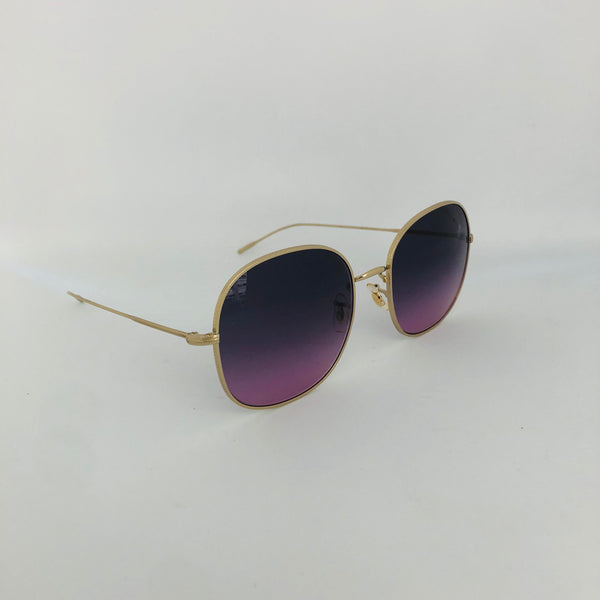 OLIVER PEOPLES OV1255S MEHRIE SOFT GOLD PURPPLE GRADIENT