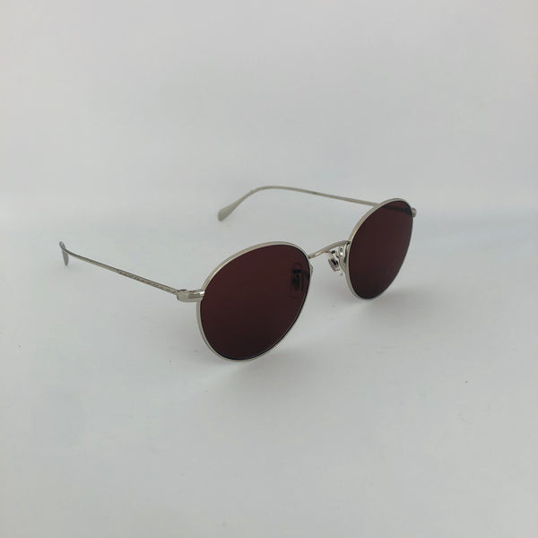 OLIVER PEOPLES OV1186S 5036C5 COLERIDGE SUN SILVER BURGUNDY