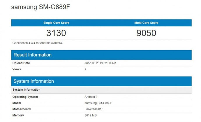 Samsung phone pops up on Geekbench, could be a Galaxy S Active