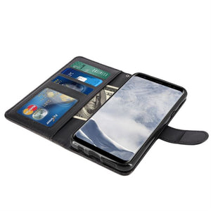 Best Samsung S8 Leather Wallet Case - Free Next Day Delivery