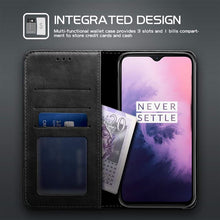 Load image into Gallery viewer, Best OnePlus 7 Premium Leather Case - Free Next Day Delivery