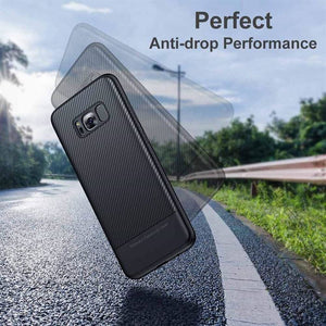 Best Samsung S8 Carbon Fiber Case - Free Next Day Delivery