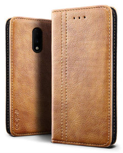 Best OnePlus 7 Premium Leather Case - Free Next Day Delivery
