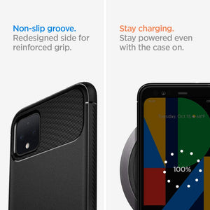 Google Pixel 4 Case Rugged Armor