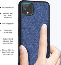 Load image into Gallery viewer, Google Pixel 4 XL Case Fabric Finish