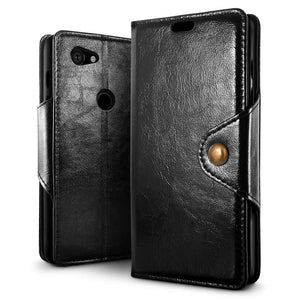 Best Google Pixel 3A Retro Leather Case - Free Next Day Delivery