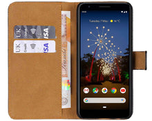 Load image into Gallery viewer, Best Google Pixel 3A XL Leather Case - Free Next Day Delivery