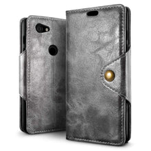 Load image into Gallery viewer, Best Google Pixel 3A XL Retro Leather Case - Free Next Day Delivery