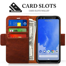 Load image into Gallery viewer, Best Google Pixel 3 Leather Card Holder Case - Free Next Day Delivery
