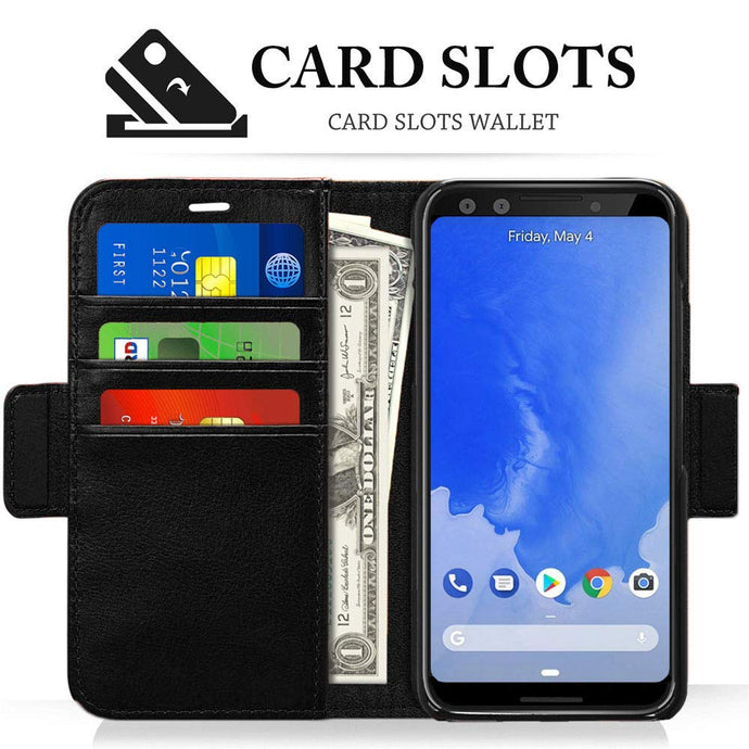 Google Pixel 3 Leather Card Holder Case