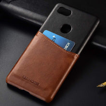 Load image into Gallery viewer, Best Google Pixel 3 Vintage Leather Case - Free Next Day Delivery