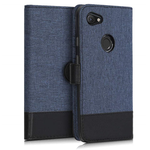 Google Pixel 3a XL Leather Flip Case