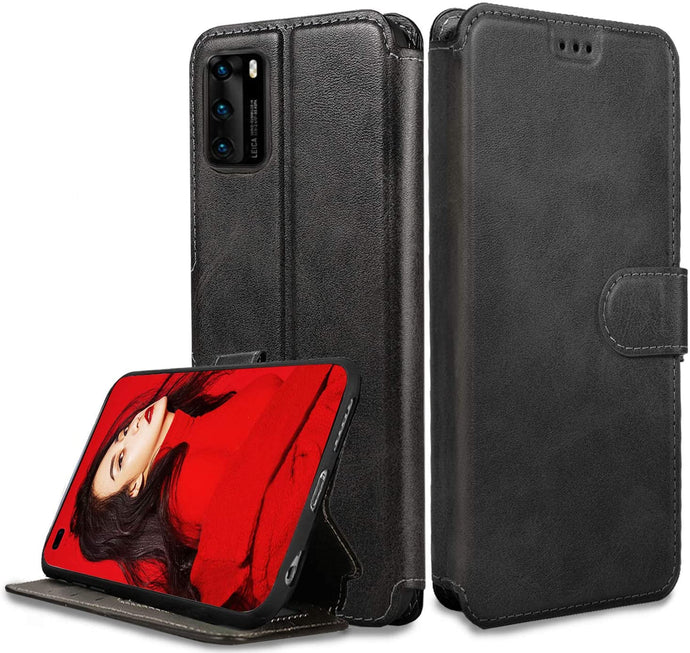 Huawei P40 Case Leather