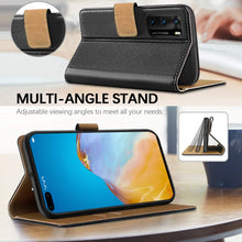 Load image into Gallery viewer, Huawei P40 Case Premium Leather
