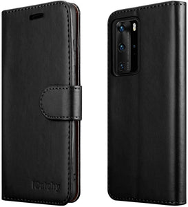 Huawei P40 Pro Case Leather Wallet