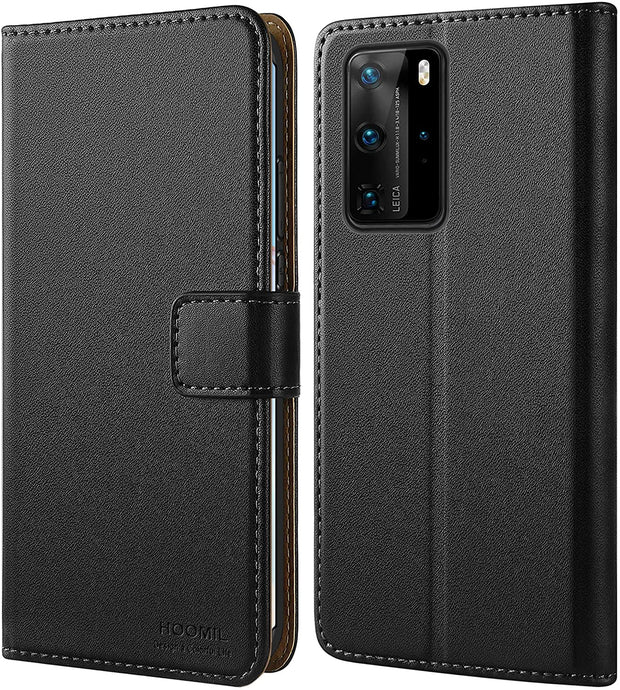 Huawei P40 Pro Case Leather