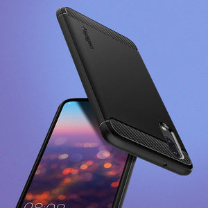 Best Huawei P20 Carbon Fiber Case - Free Next Day Delivery
