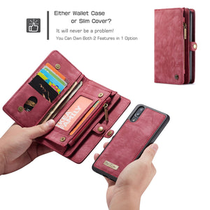 Best Huawei P20 Double Wallet Case - Free Next Day Delivery
