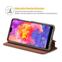 Load image into Gallery viewer, Best Huawei P20 Leather Wallet Case - Free Next Day Delivery