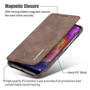 Best Huawei P20 Leather Wallet Case - Free Next Day Delivery