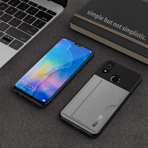 Huawei P20 Lite Card Holder Case