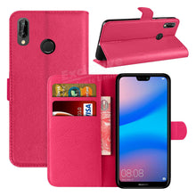 Load image into Gallery viewer, Huawei P20 Lite Leather Case