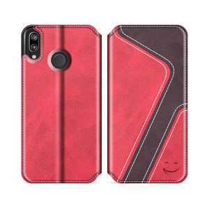 Best Huawei P20 Lite Premium Leather Case - Free Next Day Delivery