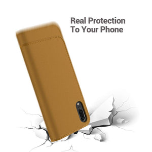 Best Huawei P20 Lite Slim Leather Case - Free Next Day Delivery